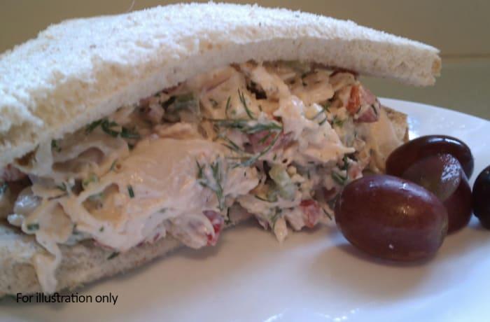 Sandwiches - Healthy Chicken Caesar