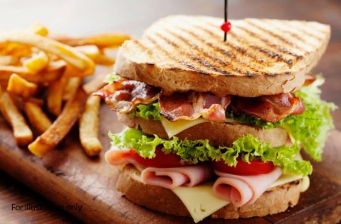 Sandwiches - Smoked Chicken and Ham