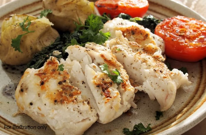 Sea Food - Grilled Hake Fillet
