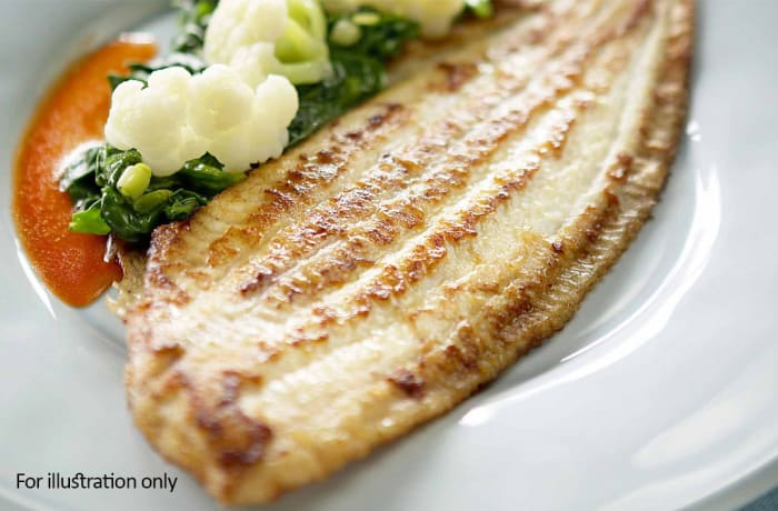 Sea Food - Grilled Sole