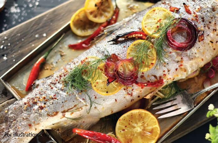 Sea Food - Grilled Trout
