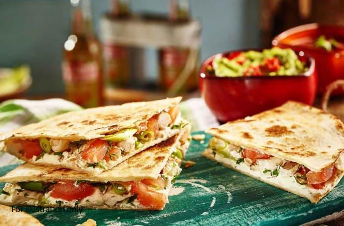 Starter - Mexican Quesadilas - Vegeterian