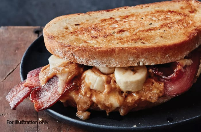 Toasted Sandwiches - Bacon with Banana