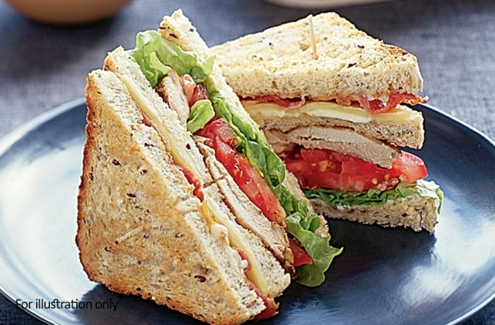 Toasted Sandwiches - Chicken Mayonnaise