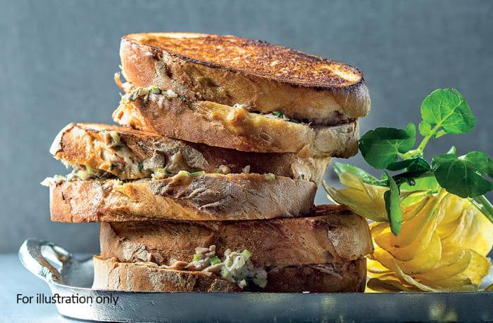 Toasted Sandwiches - Tuna Mayonnaise
