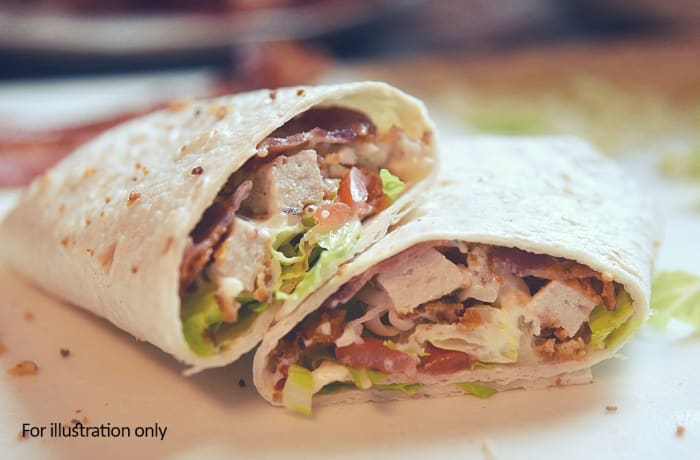 Wraps - Chicken and Bacon