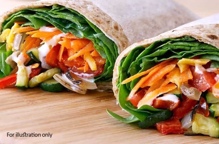 Wraps - Roast Vegetables