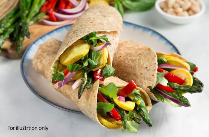Wraps - Vegetarian