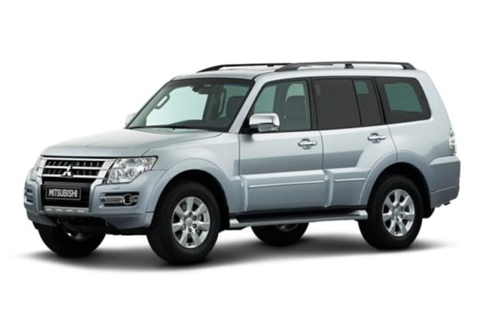 Mitsubishi Pajero - Per day - within Lusaka