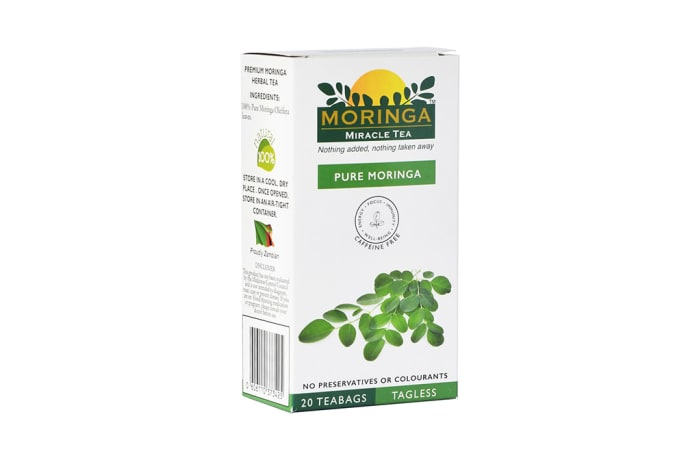 Herbal Tea Organic Superfood Moringa  Original Green Tea