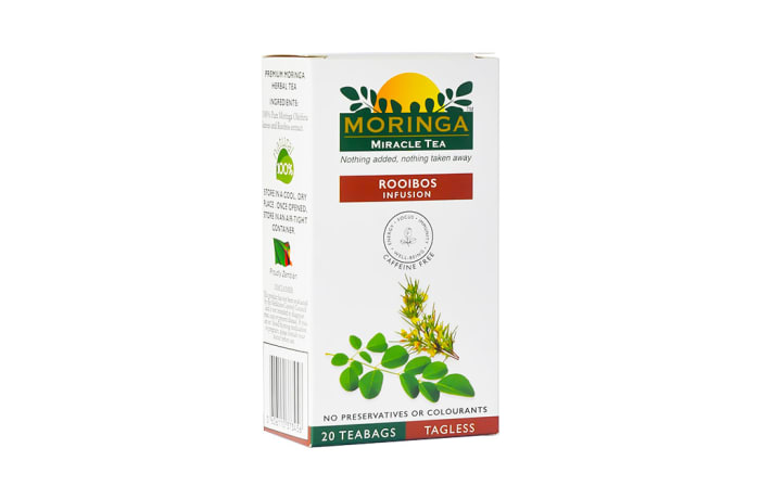 Herbal Tea  Organic Superfood Moringa  Tea Rooibos Infusion