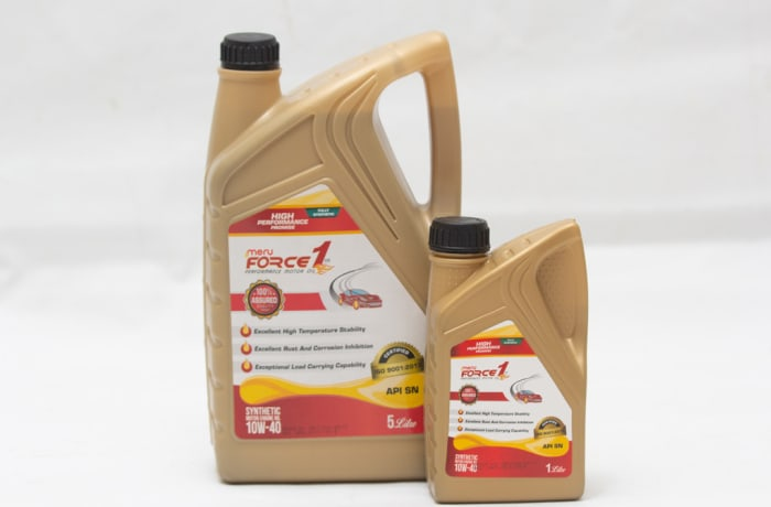 Meru Force 1 - Synthetic Motor Engine Oil 10W-40 API SN