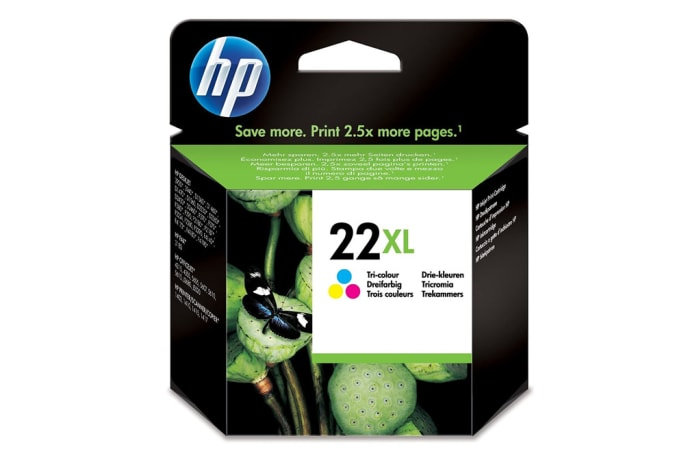Printer Toner Cartridges - Hewlett Packard HP 22XL Multi Colour Cartridge