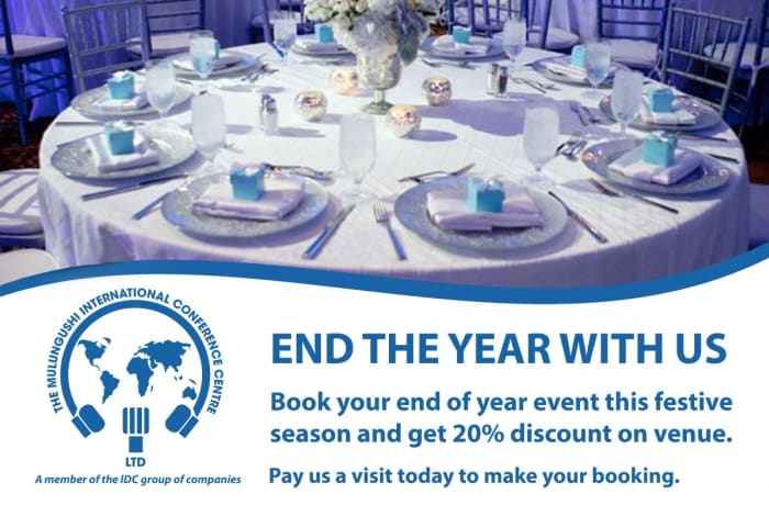 Get up to 20% off your venue bookings! image