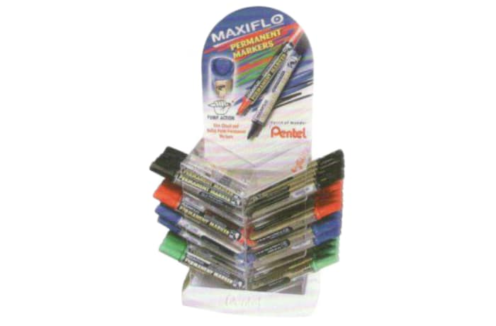 Permanent Markers - NLF56-8D  Maxiflo Pump-it Bullet Point - Display