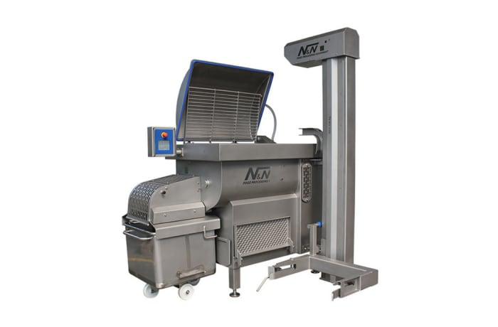Blender - N&N Mix450V Vacuum Paddle Blender With Integrated Lifting Device