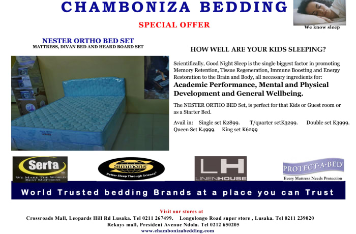 Special offer on Nester Ortho bed set  image