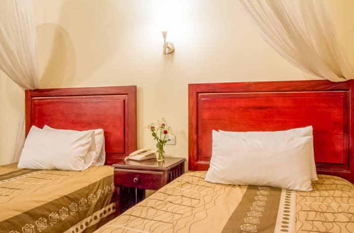 Special rates on shared and single accommodation image