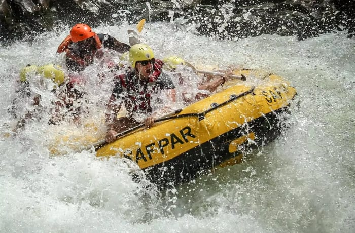 Livingstone Activities - White Water Rafting