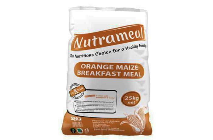 Nutrameal Orange Maize  Breakfast Meal 25kg