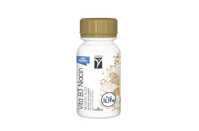 Vita B3 Niacin  Dietary Supplement  60 Capsules