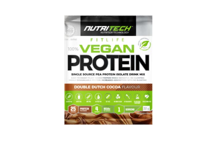 Nutritech Vegan Protein 100% Pea Isolate Sachets