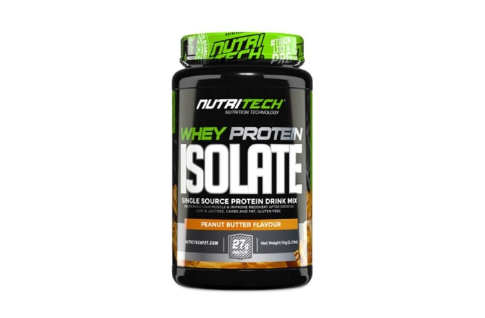 Nutritech  Whey Protein Isolate  Peanut Butter