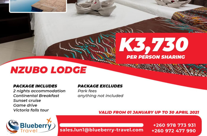 Nzubo Lodge package - 2 nights stay image