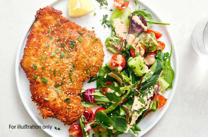 Ale House Favourites - Chicken Schnitzel