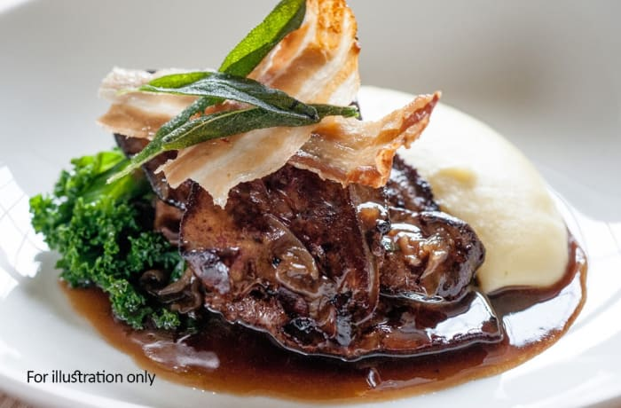 Ale House Favourites - Liver and Onion