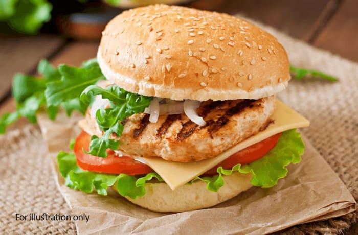 Main Meals - Burgers & Sarnies - Grilled Chicken Burger