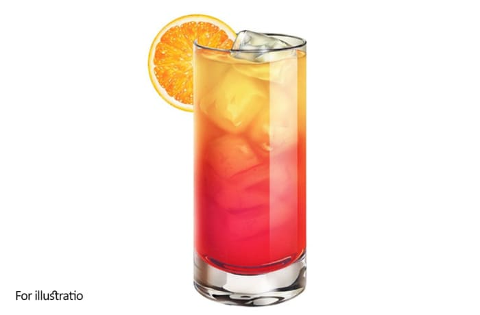Classic Cocktails - Tequila Sunrise