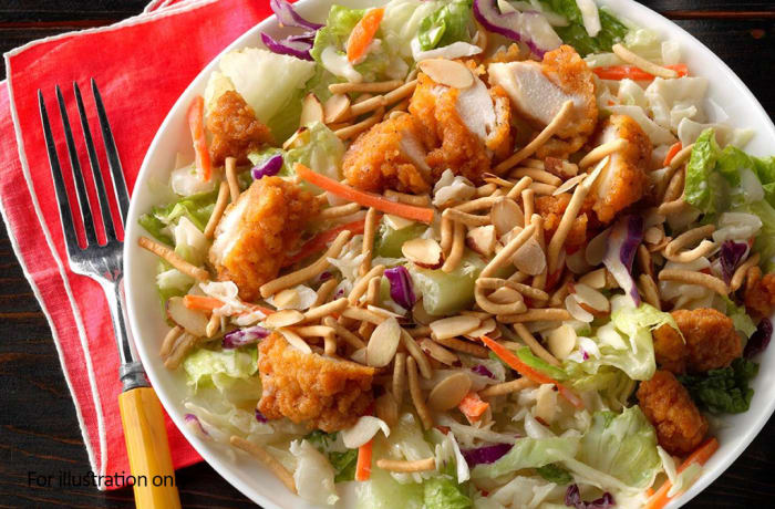 On The Lighter Side - Salads - Oriental Salad