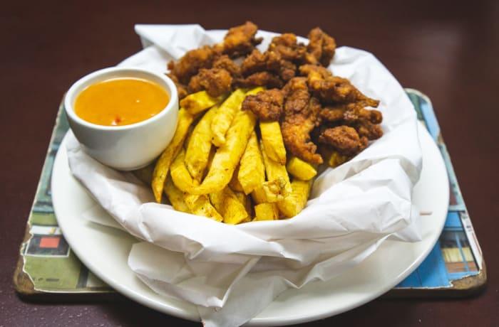 Pub Snacks - Calow's Chicken Strip Basket