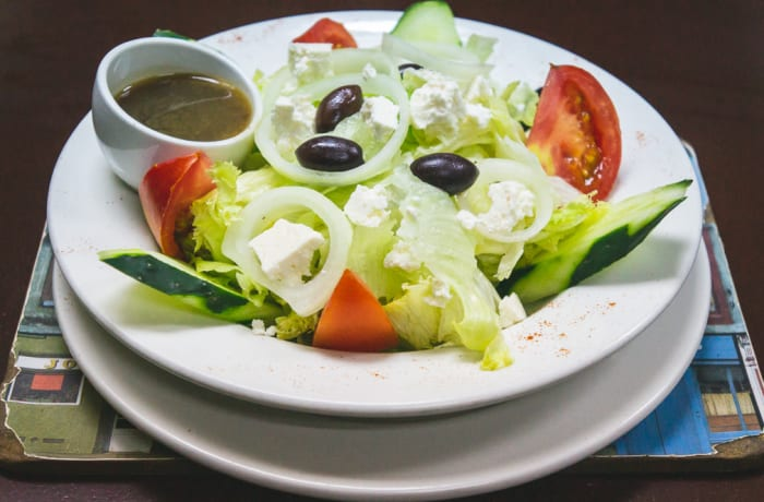 On The Lighter Side - Salads - Vegetarian Greek Salad
