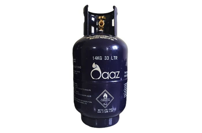 Ogaz 14kg LPG cylinder – 1st time purchase