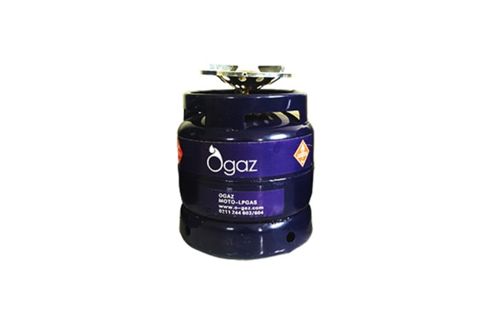 Ogaz 6kg LPG cylinder - 1st time purchase