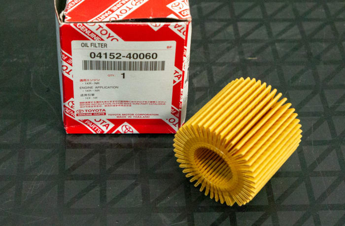 Toyota - Oil Filter with no metal cover