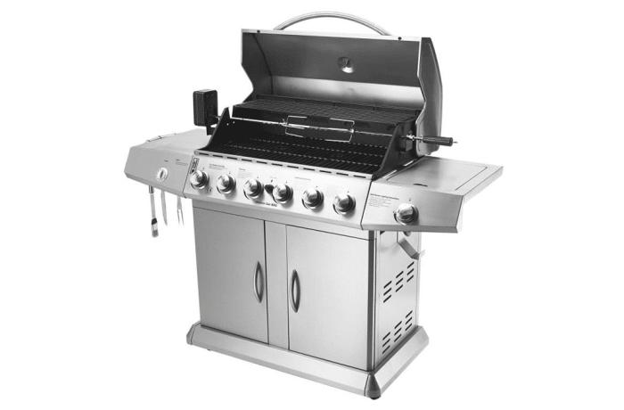 6-Burner Cabinet Gas Grill - ola1480