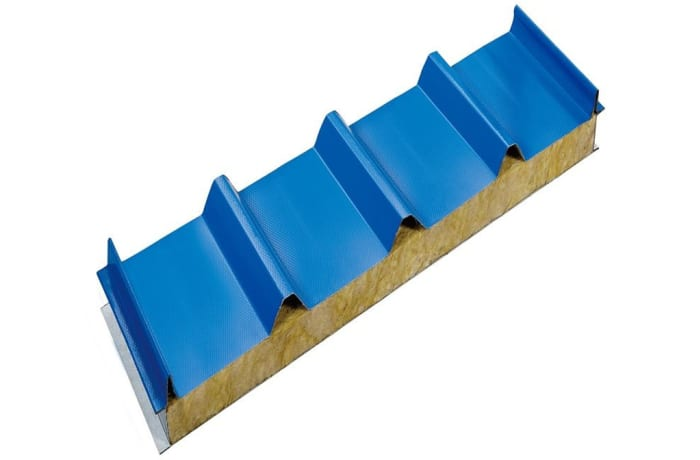 Insulated Blue steel tile - 3941