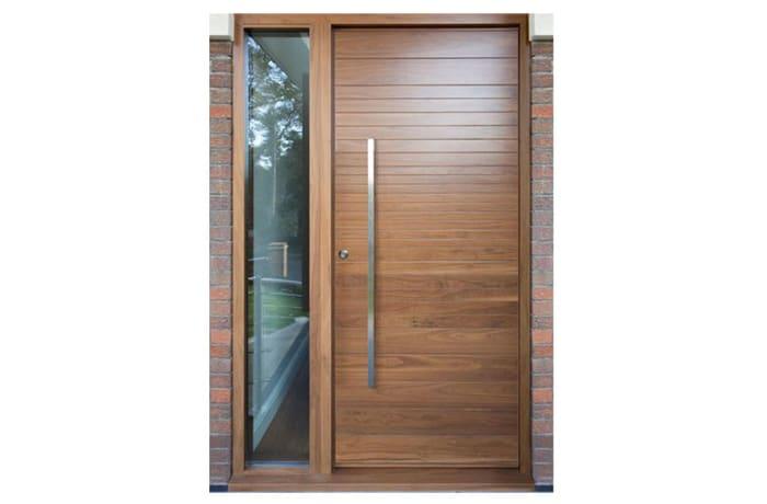 Modern plain 100% Solid Wood Door - 60428631962 A