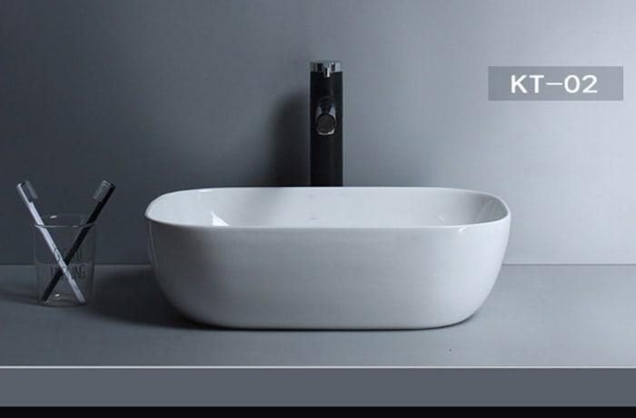 Bathroom sink - Nordic Vanity counter basin K6021 KT-02