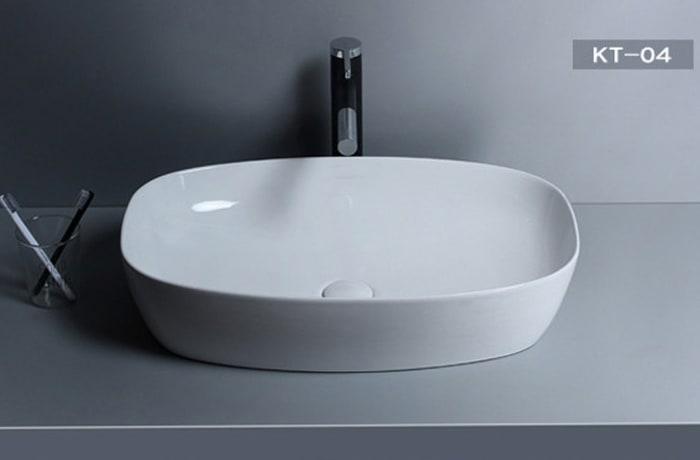 Bathroom sink - Nordic Vanity counter basin K6021 KT-04