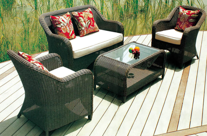 Outdoor Furniture  Sofa and Table set - Model HD-A059