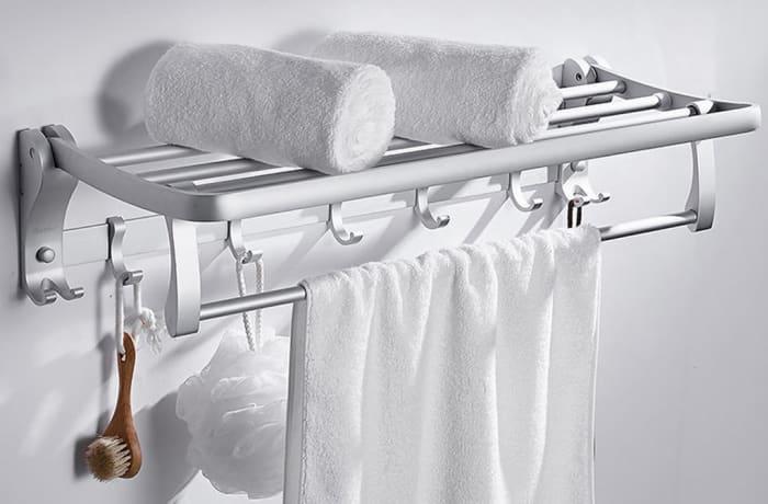 Towel Racks - Aluminium Towel rack K6-L/D6-N 1