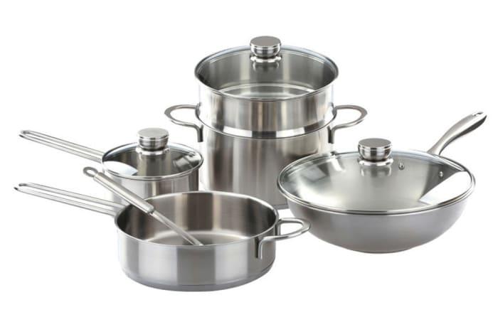 Stainless Steel Pot Set of nine - 30647135640