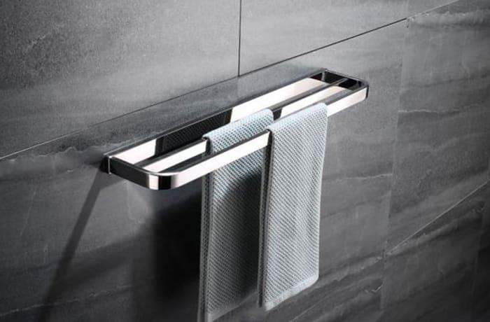 Towel Racks - Stainless steel towel rack 95001 C