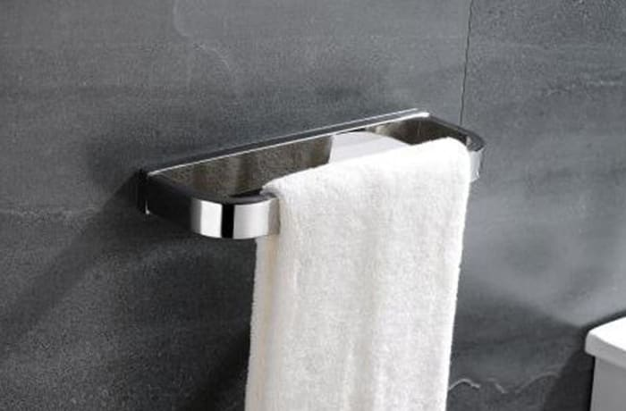Towel Racks - Stainless steel towel rack 95001 E