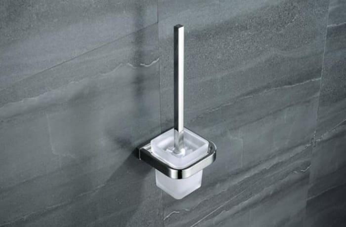 Toilet brush - Stainless steel toilet brush 95001 F