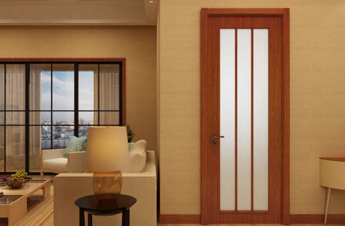 White Wood and Glass Door - 31232080284 A